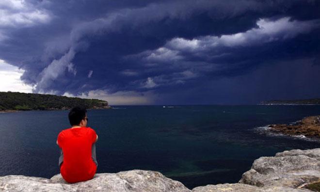 Avustralya'da Şaşırtan Fırtına