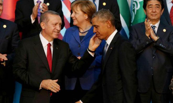 Erdoğan'ın Obama Sevgisi