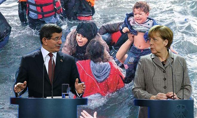 Mülteci Canı Üzerinden At Pazarlığı