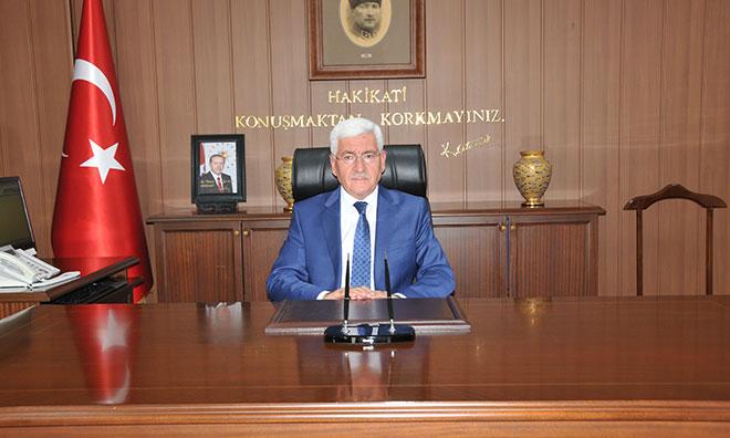 Karaman'da Ensar'ın Üstünü Örten Vali