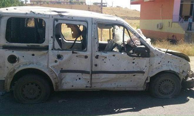 Terör Diyarbakır'ı Vurdu