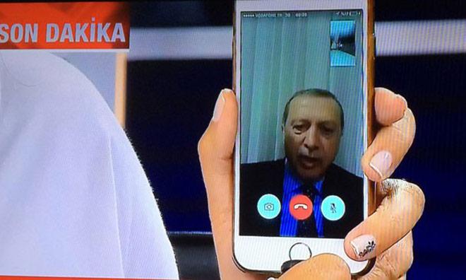 Erdoğan Sokağa Çağırdı