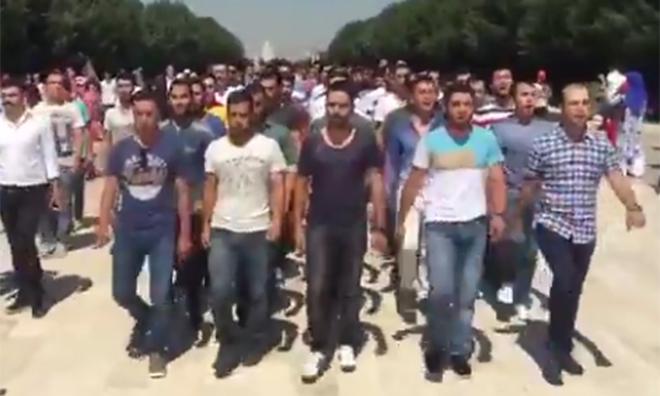 Jandarma Marşı İle Anıtkabir'e Yürüdüler