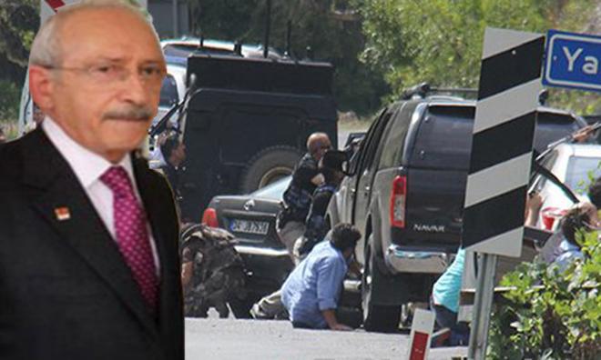 """""""Kılıçdaroğlu'nun Aracına Atış Yapılmadı"""""""