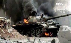 Cerablus'ta Türk Tankına Saldırı