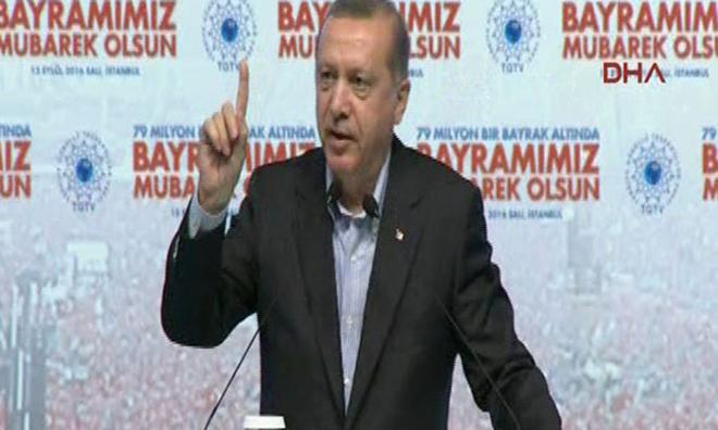 Erdoğan'dan İnanılmaz Sözler