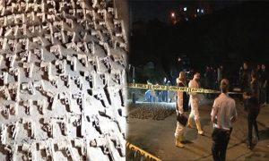 Üsküdar'da Yüzlerce Silah Bulundu