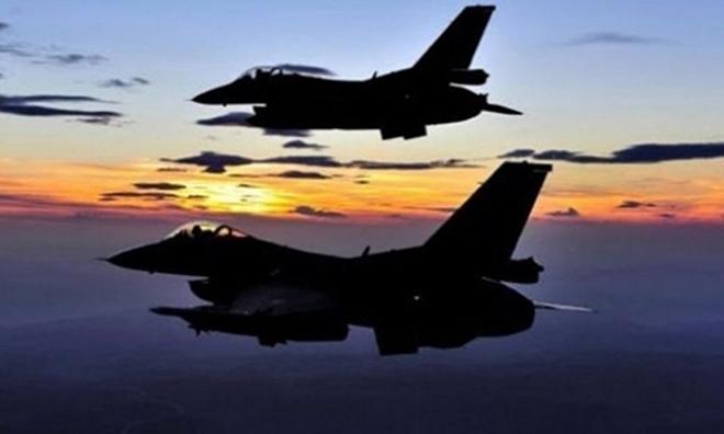 TSK Suriye'de YPG Hedeflerini Vurdu