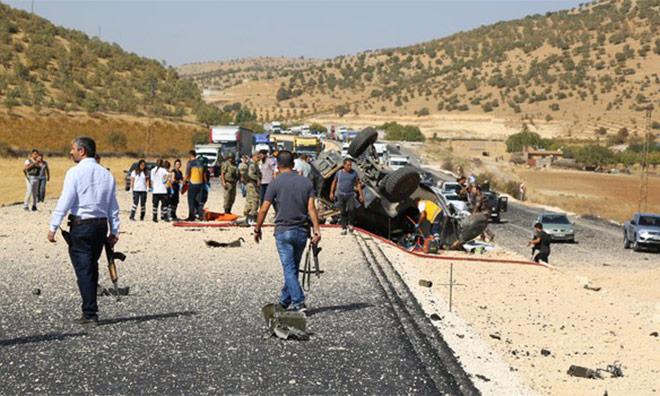PKK 4 Koldan Saldırdı