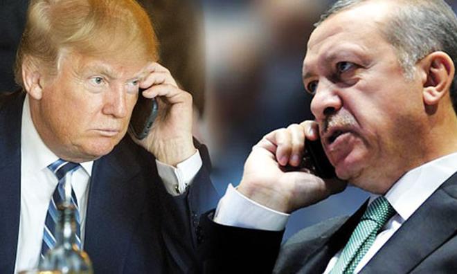 Trump'ı ilk Arayanlardan Biri Erdoğan Oldu