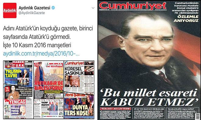 Atatürk Yok Provokasyonu