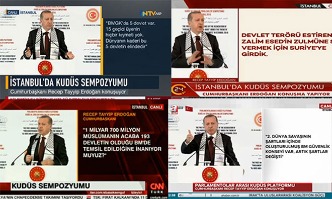 Başbakanı Sansürleyip Erdoğan'a Bağlandılar