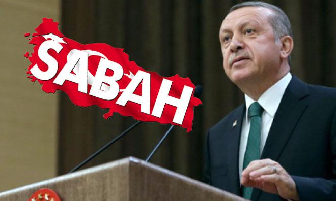 Sabah Gazetesi Erdoğan'ı Trollemiş
