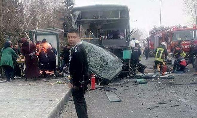 Kayseri'de Terör