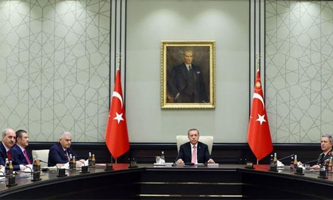 MGK Başkanı Erdoğan,Tayyip Erdoğan'a Karşı