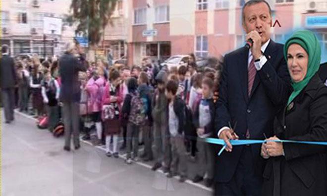 Erdoğan Geliyor, Herkes Okula!
