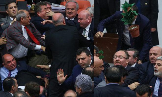 Boğaz Boğaza, Tekme Tokat Anayasa
