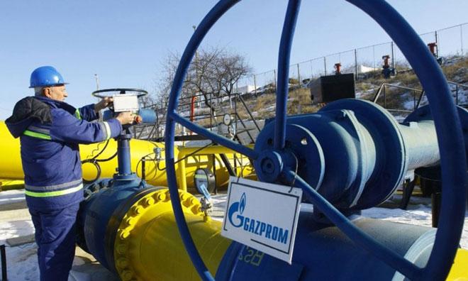 Rusya Gazprom'la Vurdu