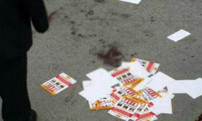 'HAYIR' Bildirisi Dağıtanlara Bıçaklı Saldırı