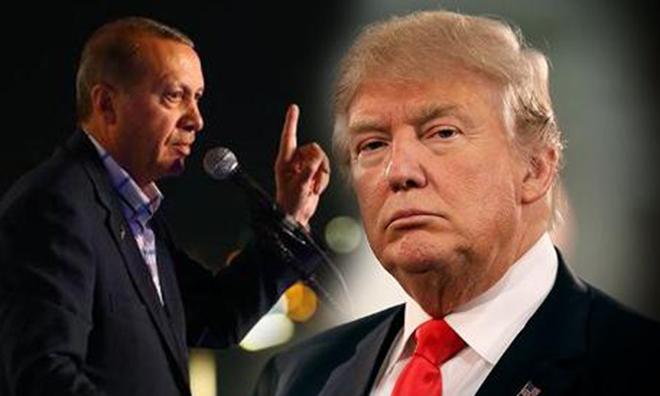 Trump'tan Erdoğan'a: Gelme!