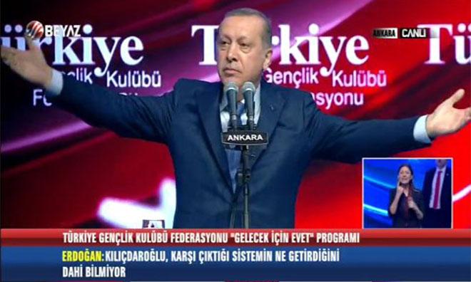 Sen de Anlamamışsın Sayın Erdoğan