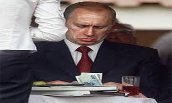 İşte Putin'in Aylık Kazancı