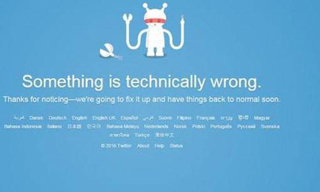 Twitter'da Küresel Sorun