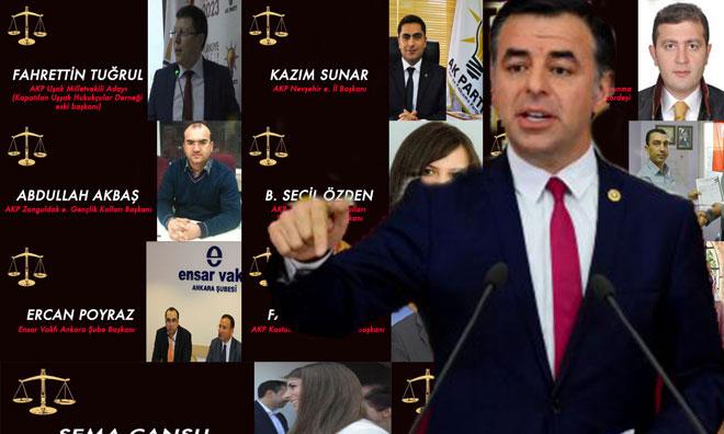 """""""Atanan Hakimlerin Yüzde 90'ı AKP'li"""""""