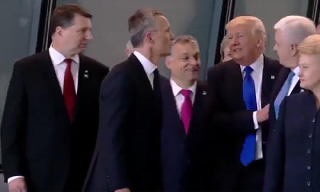 NATO Zirvesinde Trump Skandalı!