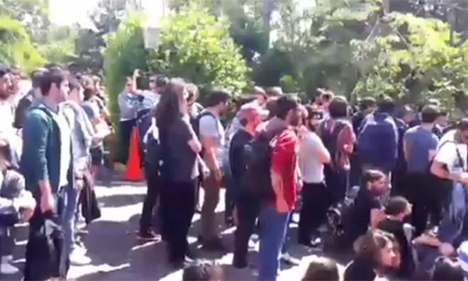 Öğrenciler Kampüse Alınmıyor!