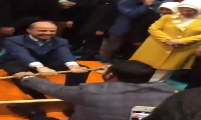 Bilal Güreşti Erdoğan Hakem Oldu