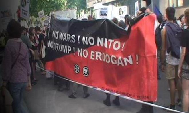 """""""Trump'a da, Erdoğan'a da Hayır!"""""""