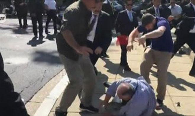 Türkiye'den ABD'ye Protesto