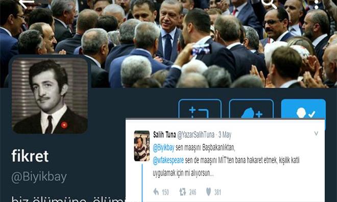 Twitter Provokatörü Başbakanlık Çalışanı Çıktı