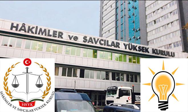 AKP'liler Üşüştü