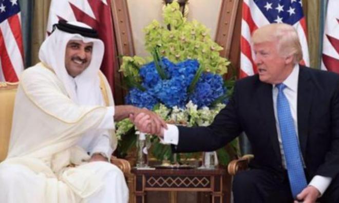 Al Tani Trump'ın Davetini Reddetti!
