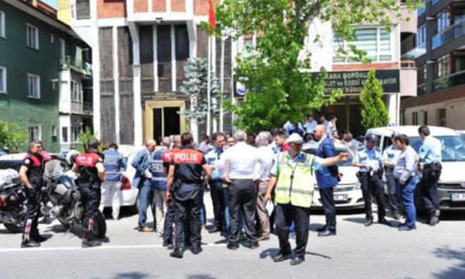 Ankara Esnaf Odasında Çatışma!