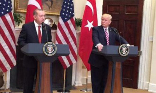 Erdoğan'ın Trump ve Putin Görüşmesi
