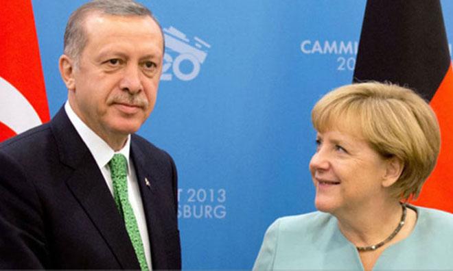 AKP'den Tarihi Almanya Çarkı