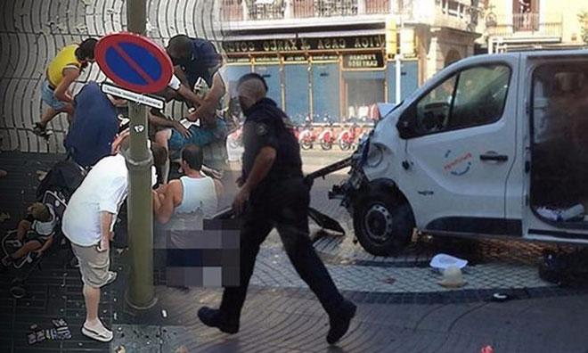 Barcelona'da Çifte Terör Saldırısı:13 ölü 32 Yaralı