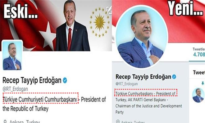 Twitter Hesabındaki 'Cumhuriyet' de Gitti!