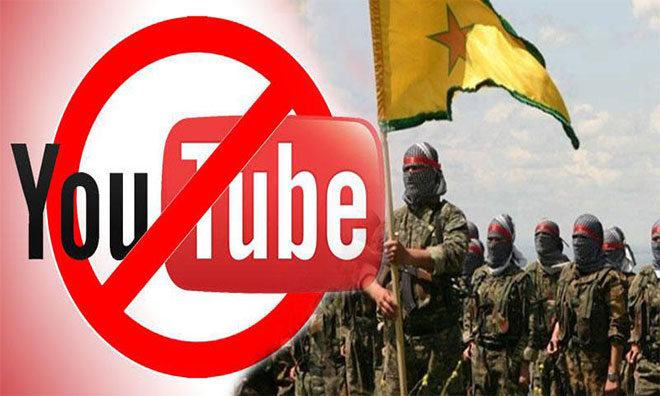 "YouTube'un YPG ""Hesabı"""