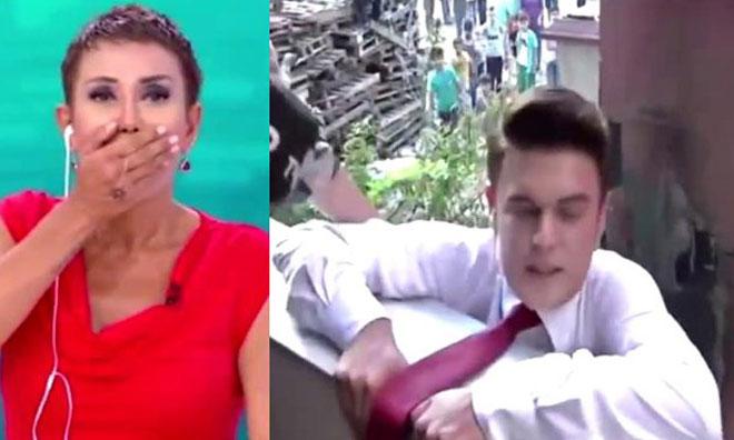 TV8'de Skandal! Reyting Uğruna Kendini Öldürecekti