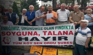 Saray'ın Valisi Fındık Mitingini Yasakladı