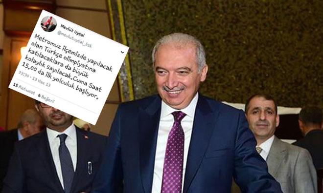 Türkçe Olimpiyatları Soslu Metro Reklamı