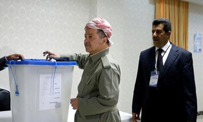 Kuzey Irak Yüzde 95 'Bağımsızlık' Dedi