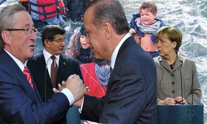 Erdoğan'ın Mülteci Canı Üzerinden AB'ye Şantajını Unuttu