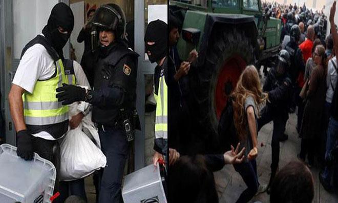 İspanya Karıştı… Hükümet Sandıklara El Koydu