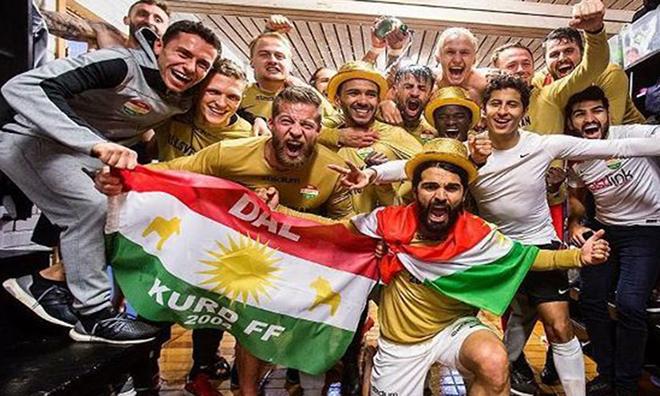 Mardin'li Kürtlerin Takımı İsveç'te Şampiyon Oldu
