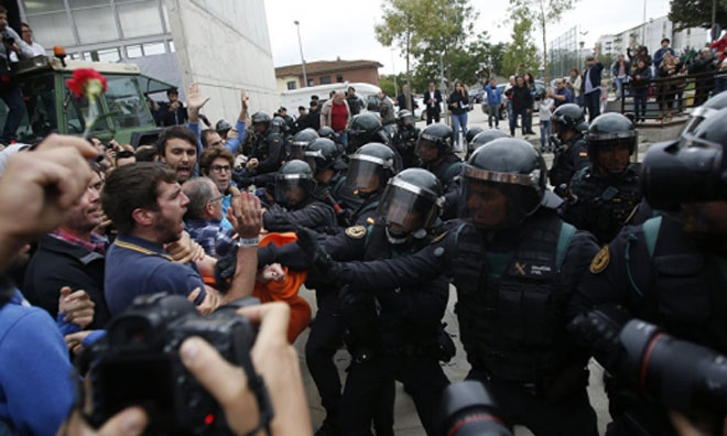 Katalonya Bağımsızlık İçin Yüzde 90 'Evet' Dedi